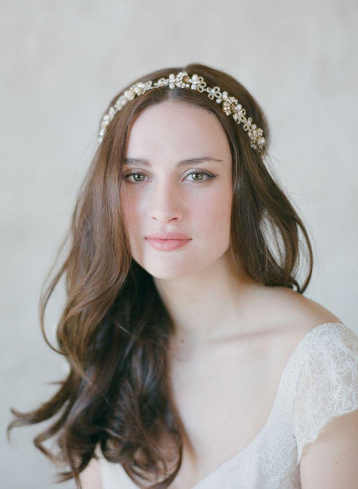 Bridal Headpiece from Twigs & Honey