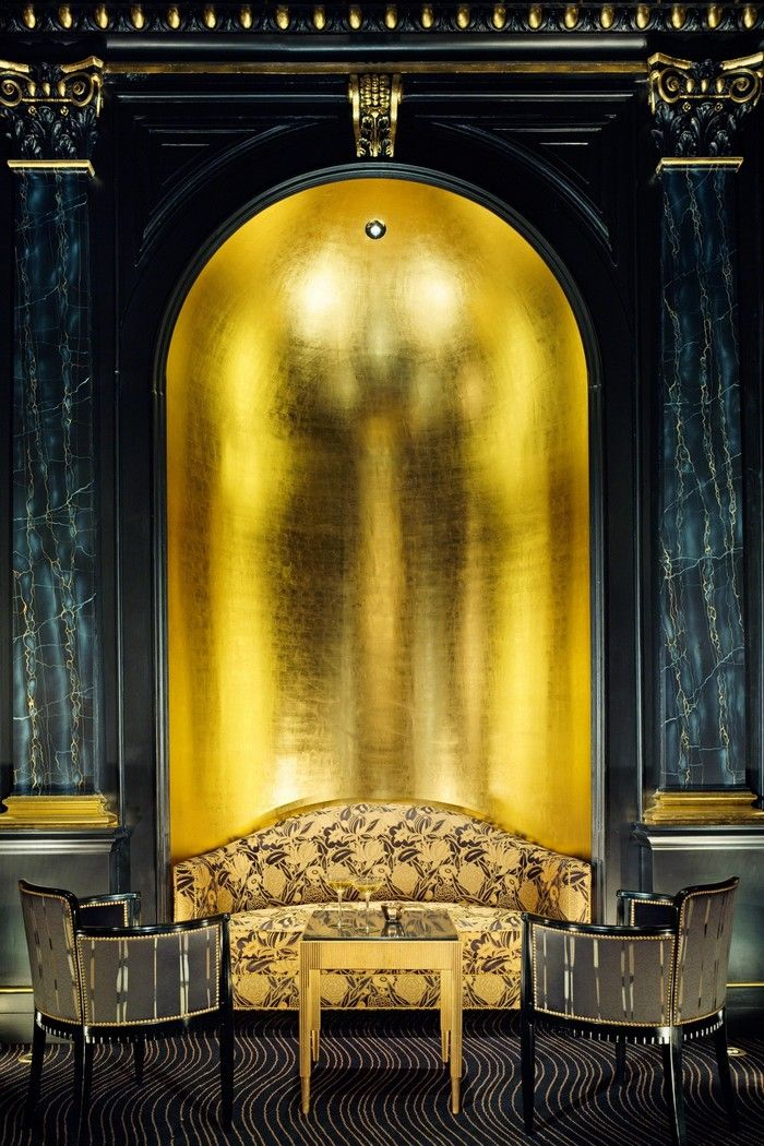 INTERIOR DESIGN PROJECT: GOLD INSPIRATIONS