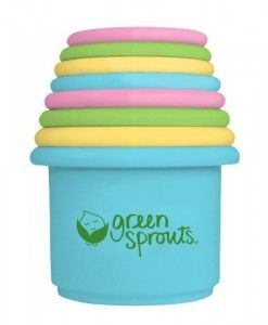 Green-Sprouts-Stacking-Cups-8-Count #top kids toys #soft toys #cool baby toys#stacking cups #cheap baby toys #best toys for kids #best toys for infants #best toys for babies #bath toys for toddlers #baby bath toys
