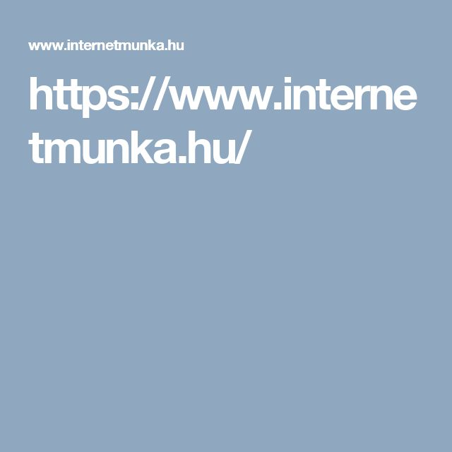https://www.internetmunka.hu/