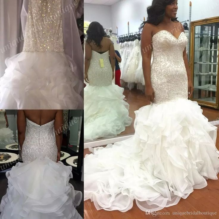1682 best 2018 wedding dresses images on pinterest 2017 for Bling corset mermaid wedding dresses