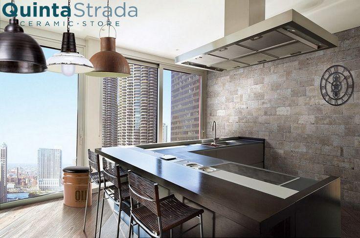 Arcadia è una serie che pur richiamando ambientazioni bucoliche e romantiche, mantiene in sé uno stile moderno. Si tratta di un gres porcellanato applicabile in esterno, interno o come rivestimento per qualsiasi ambiente della #casa! #ceramica #rustico