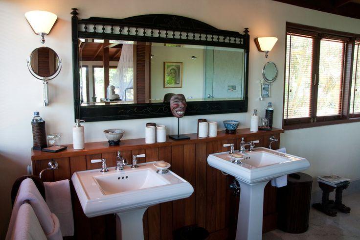 Master Bathroom at Villa East Indies