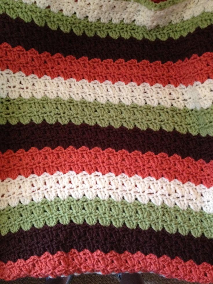 Baby Blanket Lap Size Yarn Lion Brand Vanna S Choice