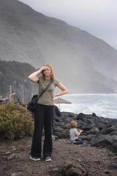 Tontut eivät tainneet kovinkaan tarkasti kuunnella säätoiveitani sinä jouluna, jonka vietimme La Palman saarella Kanarialla.
