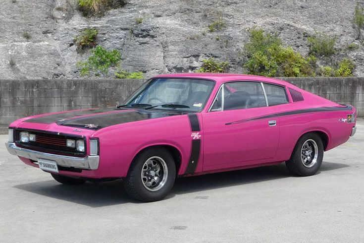 1971 Chrysler VH Valiant Charger R/T E37 Coupé
