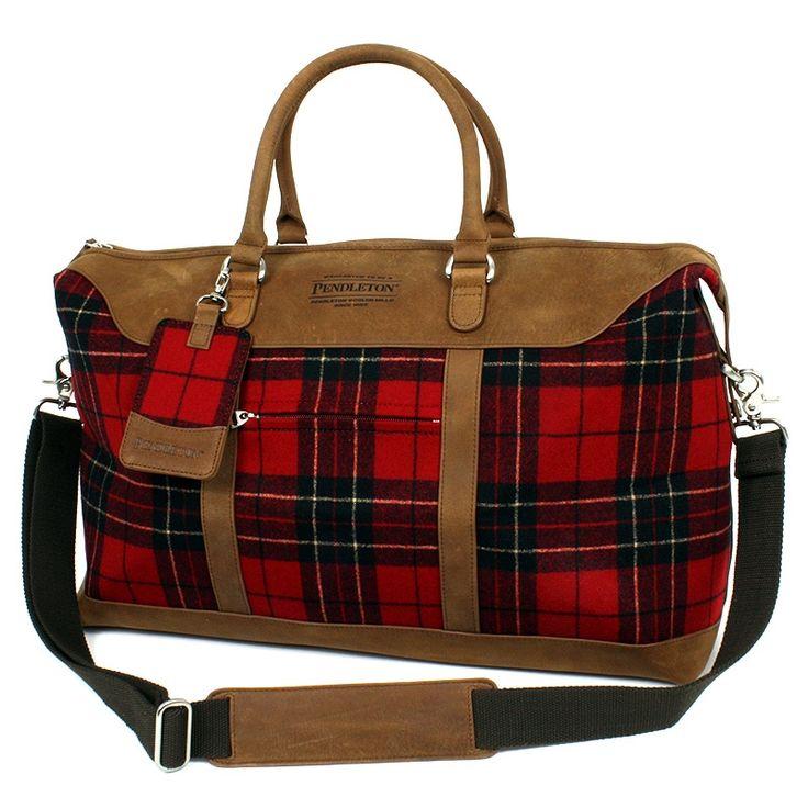Pendleton Weekend Bag in Brodie Tartan... OMG! Gotta have!