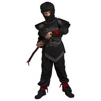 Déguisement Ninja avec sabre de 5 à 10 ans pour enfants  #costume #garcon #evenement #ninja #enfant