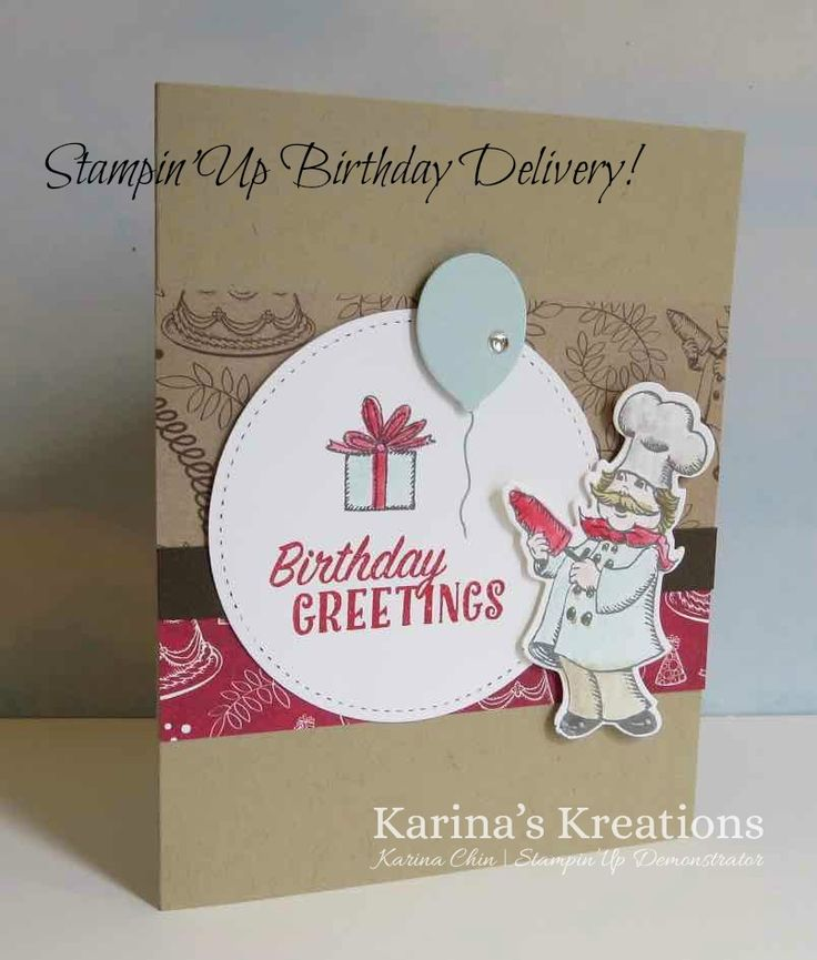 36 best Stampin\' Up! Birthday Delivery images on Pinterest ...