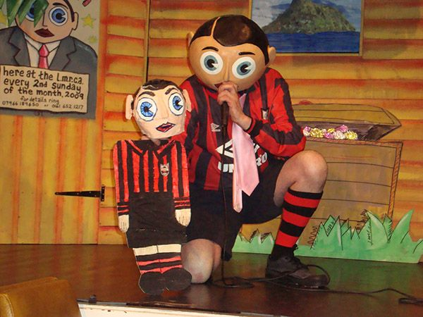 Chris Sievey the genius behind Frank Sidebottem