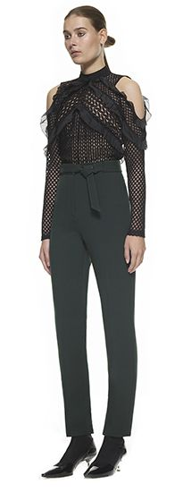 Siu Trousers Forest Green