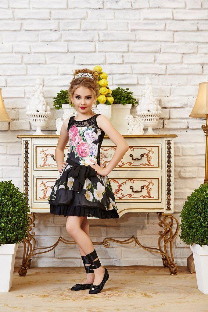 Vestido Anjo D'Agua Moda Infantil 6302