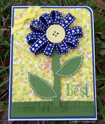 Mom's day card - cute for little man's class to make