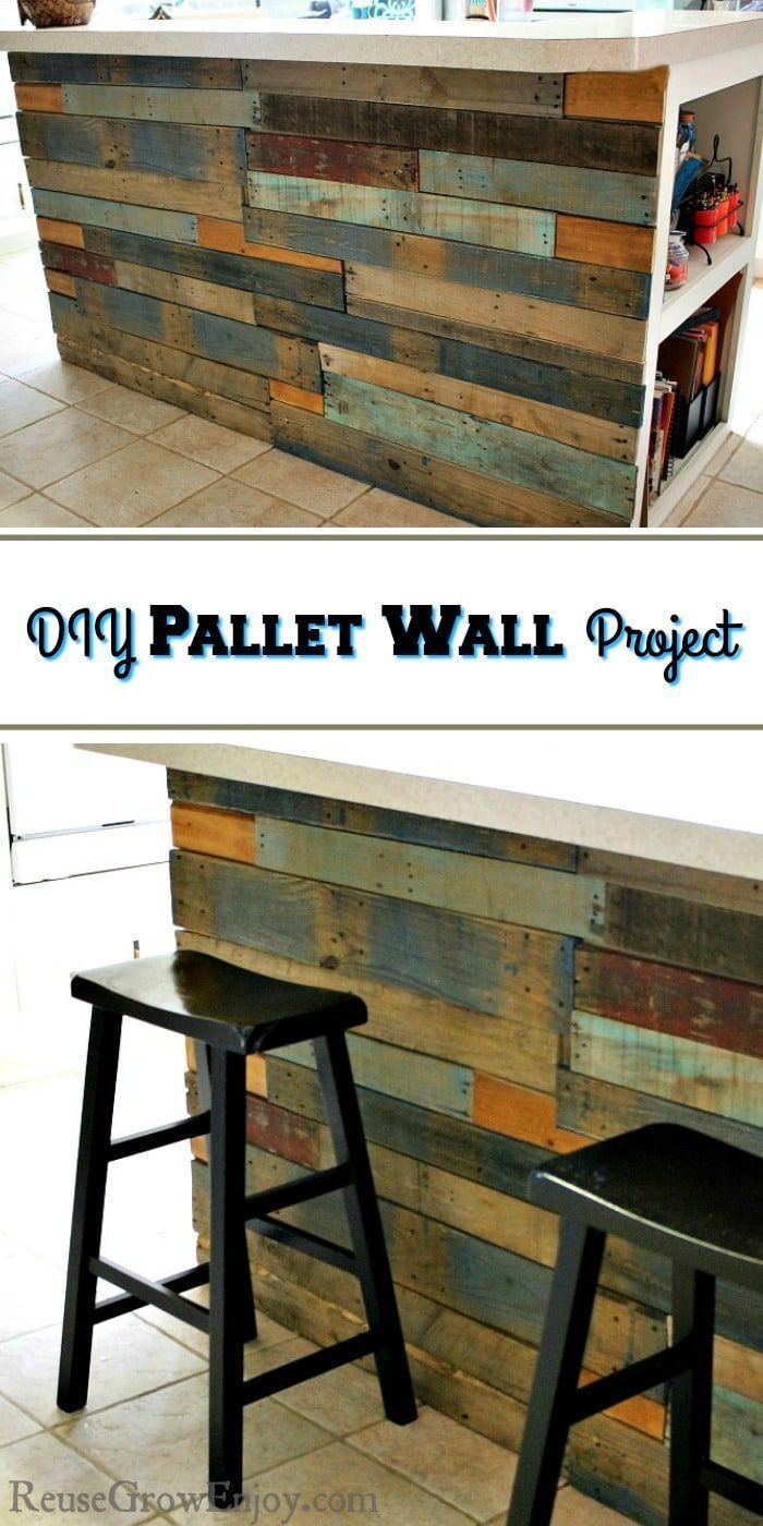 Pallet Walls Give A Great Rustic Look And Are Inexpensive If Not Free To Do If You Are Wanting To Make Your Own Diy Pallet Wall Pallet Wall Pallet Wall Decor