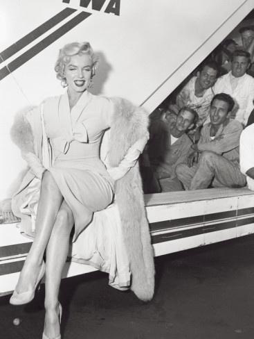 Marilyn Monroe in Airport
