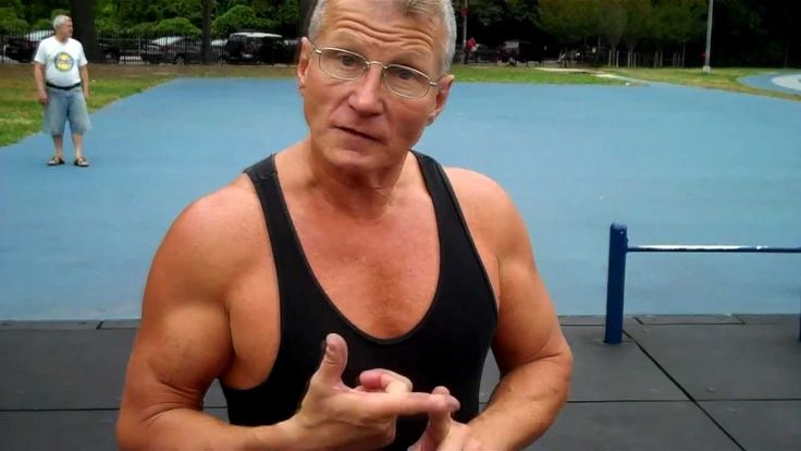 Super Strong 60 Year Old Man Gives Workout, Fitness, and