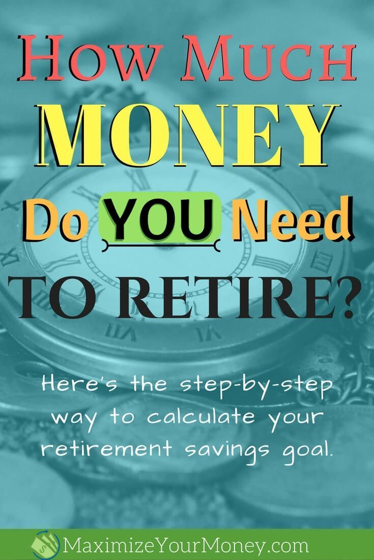 How much money do i need to retire calculator - How Much Money Do You Need To Save For Retirement