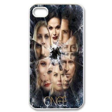 Classic Popular Once Upon a Time phone Case Cove For Iphone 4 4S case cover XXM9129551: Amazon.co.uk: Electronics