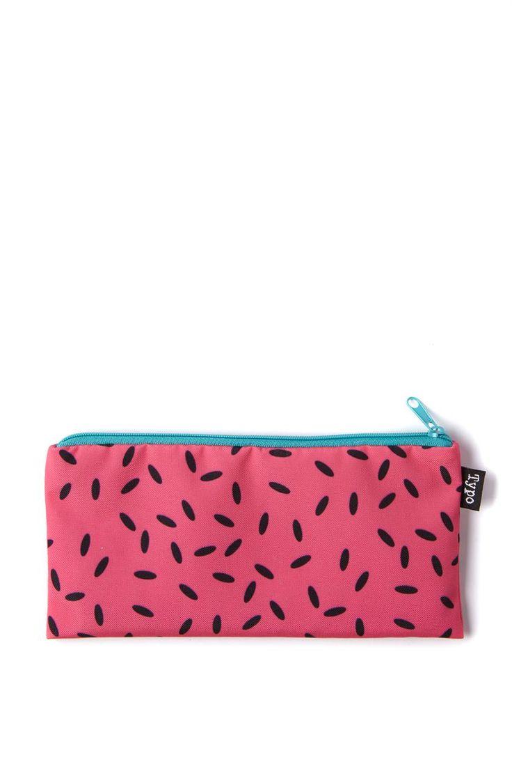 watermelon print pencil case from typo $7.99
