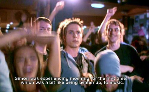 "The Inbetweeners. Season 3 Episode 2. ""The Gig and the Girlfriend."""