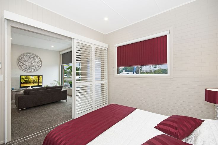 The bedroom of the Blinds For You showroom