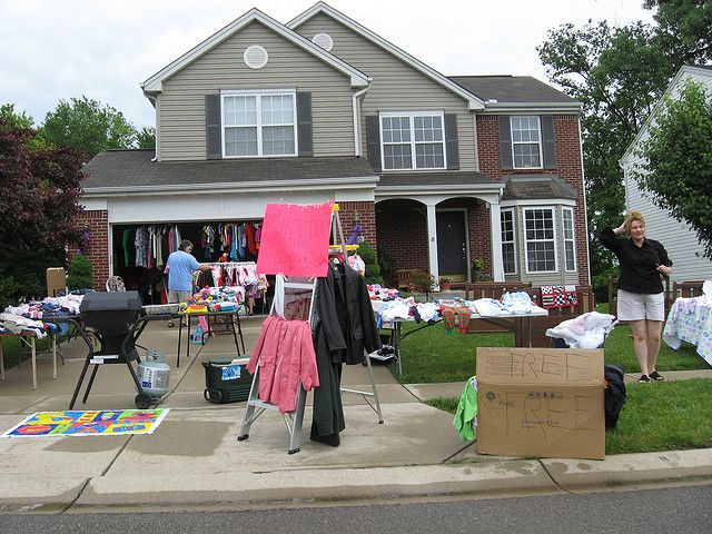 Yard Sale Strategies