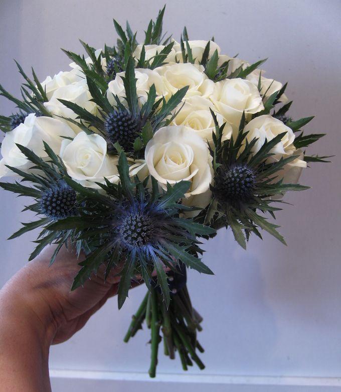 Pin By Justyna Ł 243 J On Mywedbouquet In 2019 Thistle Wedding Cheap Wedding Flowers Wedding