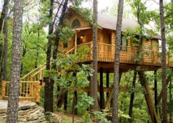 The Original Treehouse Cottages - Eureka Springs, Arkansas Treehouse Cottages was designed and built by owners Terry & Patsy Miller