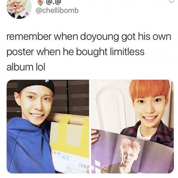 I mean for the NCT Empathy album he literally bitched about