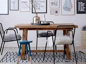 chaises de salle à manger dépareillées