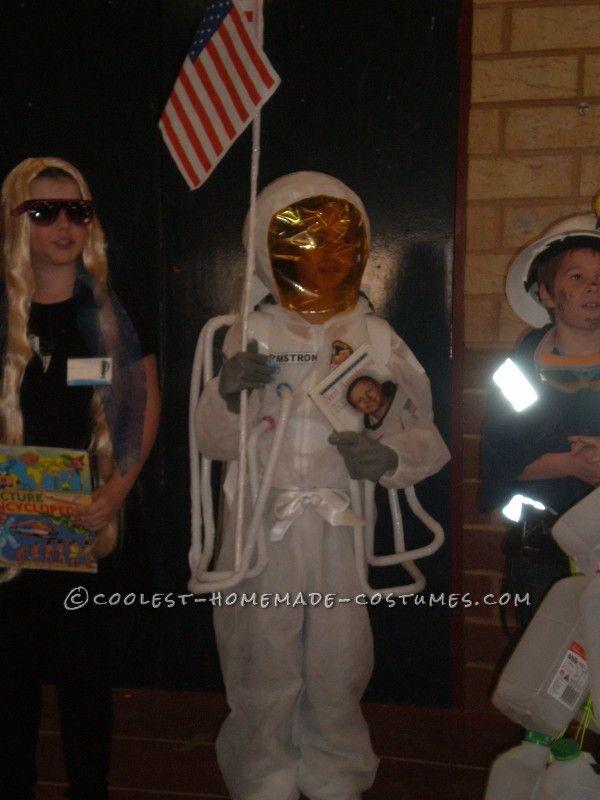 astronaut neil armstrong on uniform - photo #9