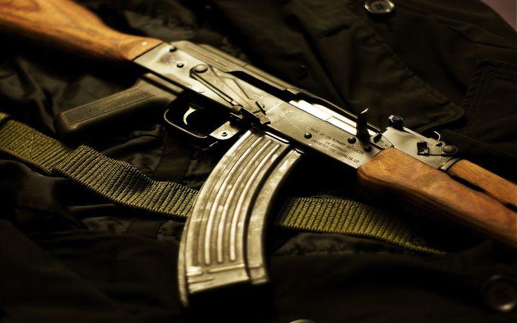 Armas Akm Assault Rifle  Papel de Parede