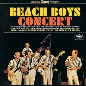 """""""Beach Boys Concert"""" (1964, Capitol). Recorded live."""