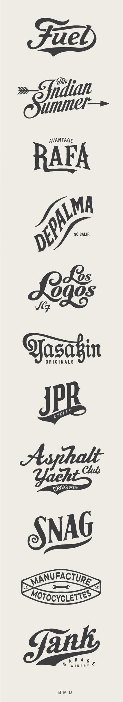 BMD Design / Art Logos