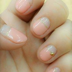この画像は「爪が短いからこそ可愛い♡ショートネイルのデザイン集!」のまとめの1枚目の画像です。