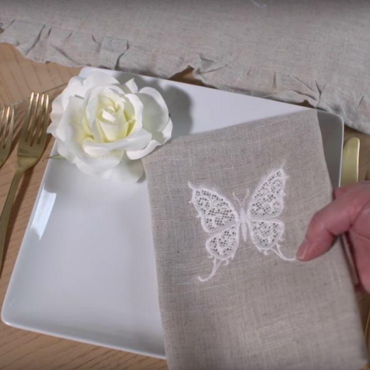 Источник Перевод: Мари СТРАТАН Кружево может украсить столовое или постельное белье, платье, блузу, платок или салфетку. Машинная вышивка дает возможность вышивать тот дизайн, который идеально …