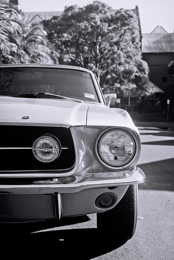 Nothing nicer than an old mustang