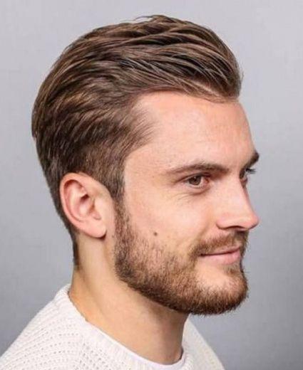 Frisuren Männer Ecken ทำผม Pinterest Frisuren Geheimratsecken