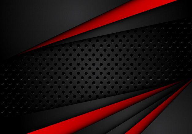 Fundo Preto Vermelho Metálico Abstrato Com Listras De Contraste | Papel de  parede vermelho e preto, Fundo vermelho e preto, Papel de parede com fundo  preto
