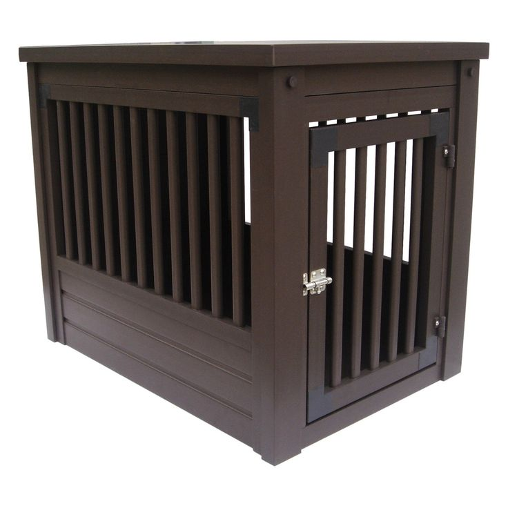 27 best wooden dog crates images on pinterest wood dog for Best wooden dog crate