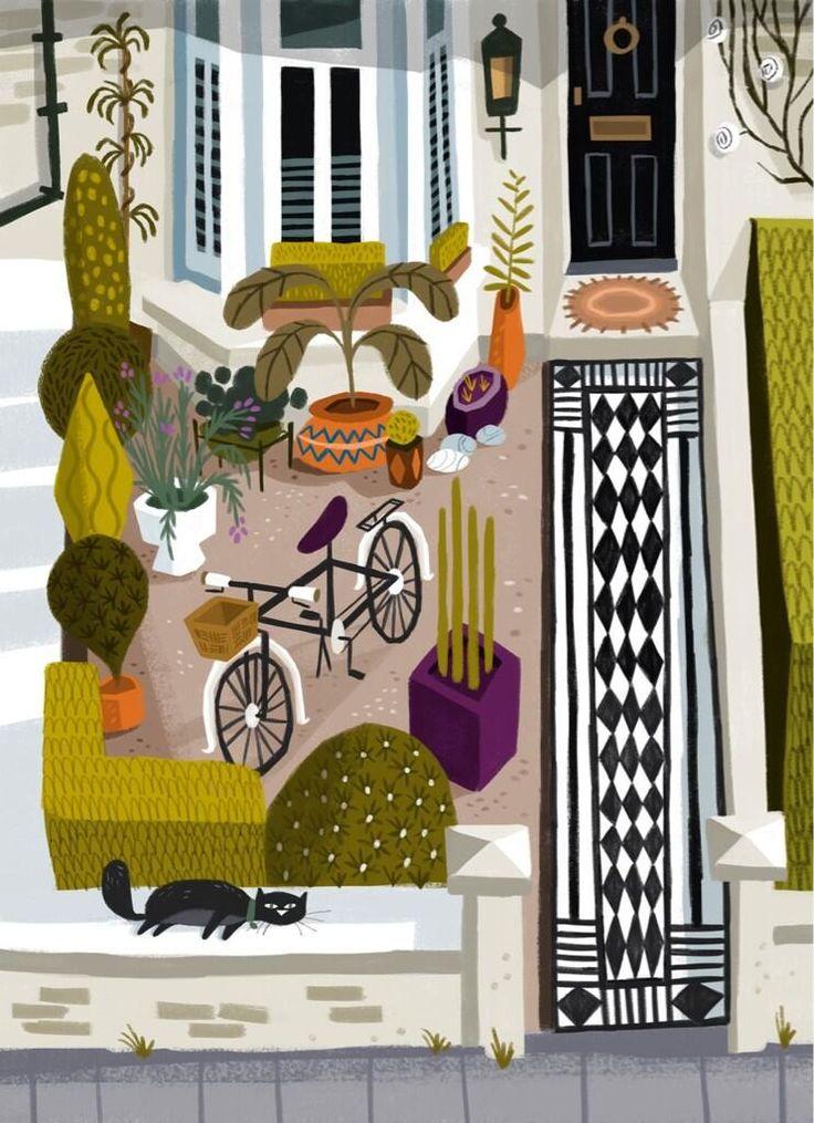 London Front Garden by Matthew Cruickshank