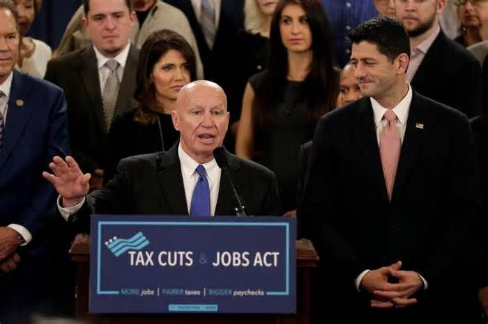 Republicans unveil tax cut bill, but the hard work awaits WASHINGTON (Reuters) - U.S. House of Representatives Republicans unveiled long-delayed legislation on Thursday to deliver deep tax cuts that President Donald Trump has promised, setting off a frantic race in Congress to give him his first major legislative ...