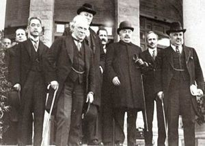 1920 April San Remo conference: The conference partitioned theOttoman Empire, establishing aFrenchmandatein Syria andLebanon.