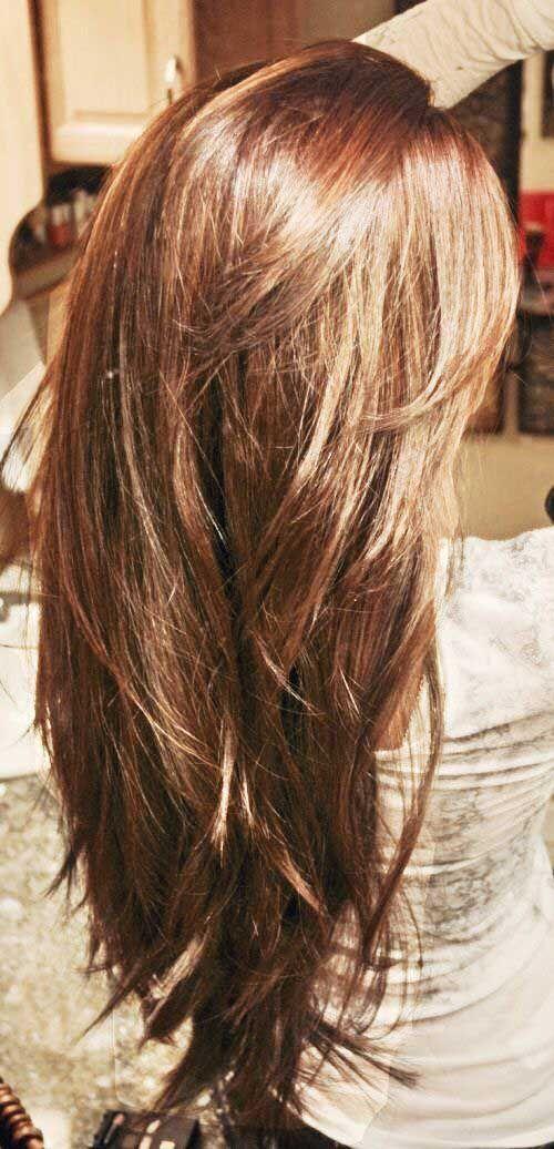 25 Frisuren Lange Schichten Frisurenlangeschichten Hair Cut