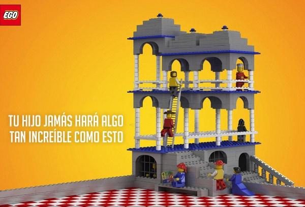 #Lego es muy sincero con su #publicidad |
