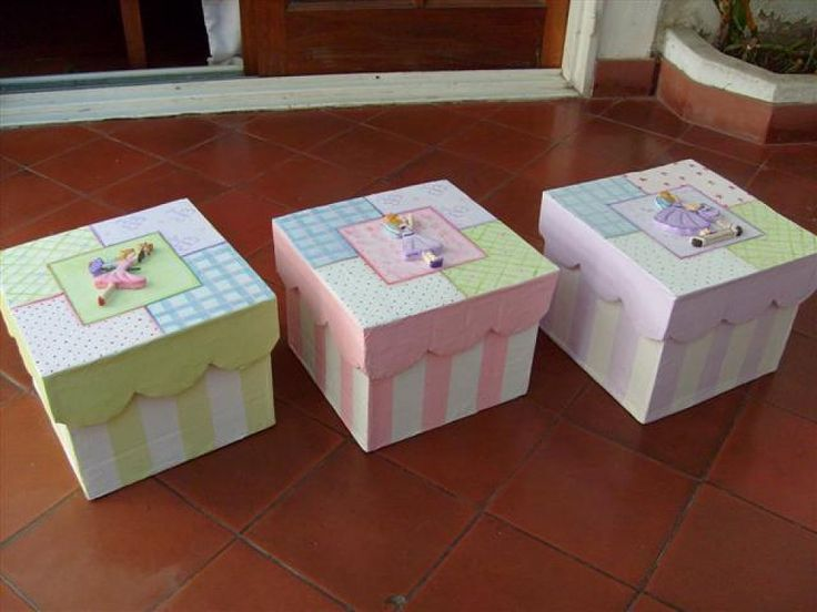 805 best cajas decoradas images on pinterest decorated - Pintura para decoupage ...