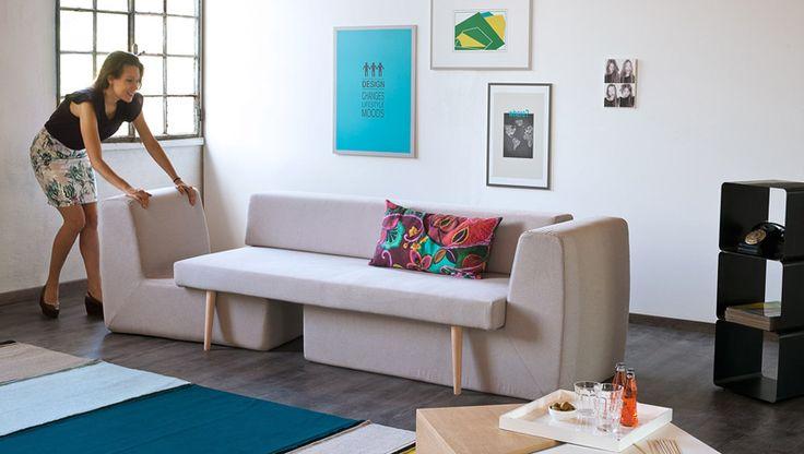 3 in 1 Modular Sofa: Sofista – Perfect for Convertible Living Rooms | http://www.designrulz.com/design/2014/08/3-1-modular-sofa-sofista-perfect-convertible-living-rooms/