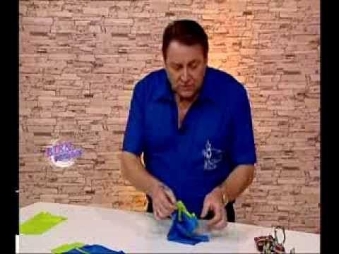 Explica la COSTURA DE  LOS PUÑOS    Hermenegildo Zampar - Bienvenidas TV - Explica la costura de los puños.