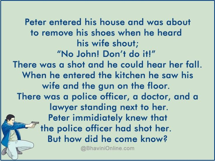 Murder Mystery: How Did Peter Find The Killer | Murder ...