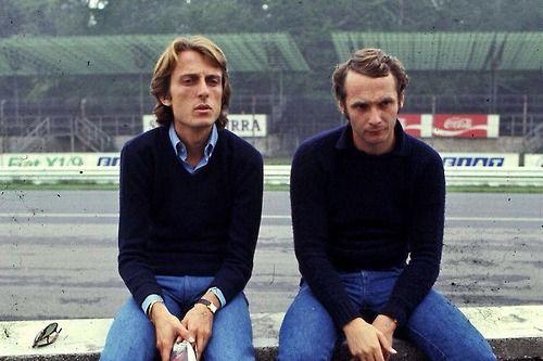 Montezemolo and Lauda